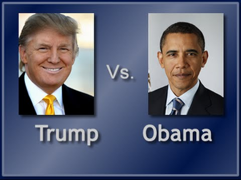 Twitter War: Obama vs. Trump