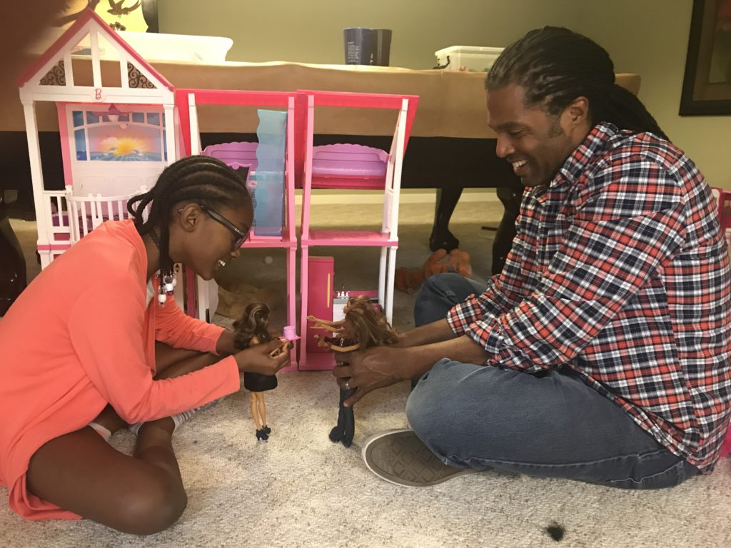 Playing with dolls teaches business