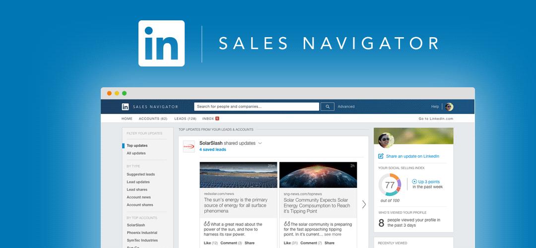 LinkedIn Sales Navigator Cliff Notes