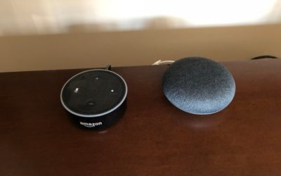 Bedroom Battle: Amazon Echo Dot vs. Google Home Mini